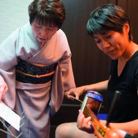 城下町文化体験イベント/端唄