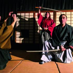 城下町文化体験イベント/殺陣