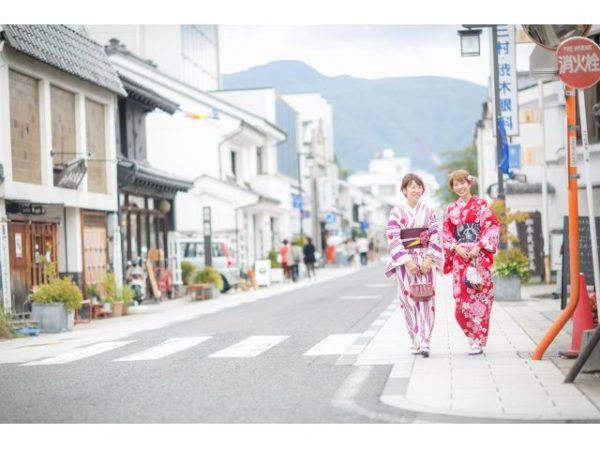 城下町文化体験イベント/着物着付け①