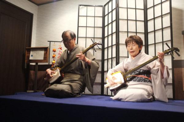 [in town of storehouse Nakamachi] Live Shamisen music & mini-workshop