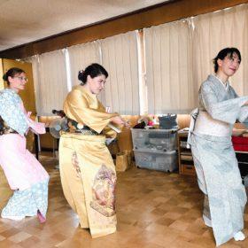 城下町文化体験イベント/日本舞踊
